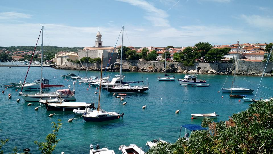 View of Old Town Krk